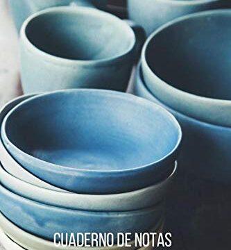 Cuaderno de notas ceramico: Diario de composición con líneas. Cuaderno de ceramico 100 páginas.
