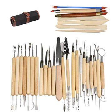 herramientas de arcilla b