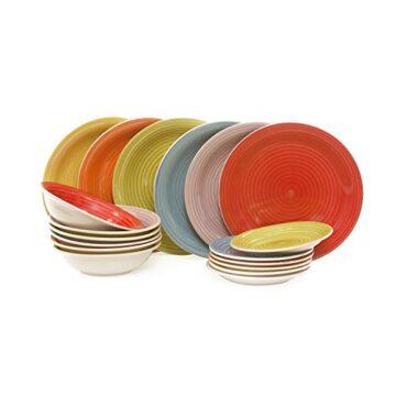 kasanova juego de platos